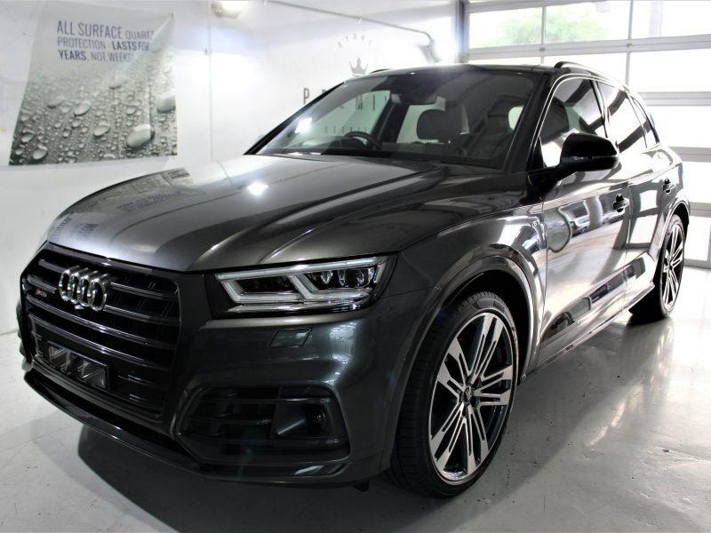 xpel ultimate paint protection film XPEL ULTIMATE Paint Protection Film Audi SQ5 XPEL Clear Bra Film 3 800x600