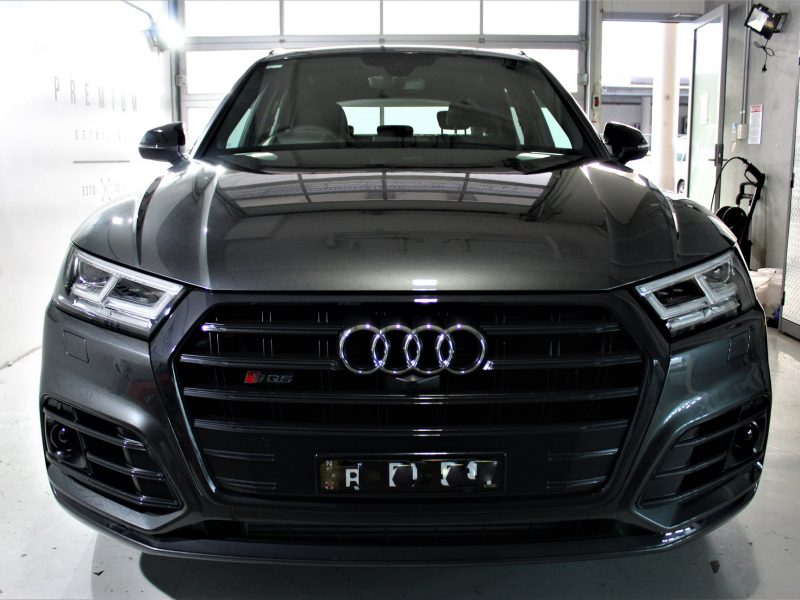 xpel ultimate paint protection film XPEL ULTIMATE Paint Protection Film Audi SQ5 XPEL Clear Bra Film 800x600