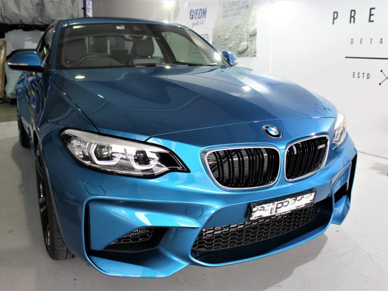 xpel ultimate paint protection film XPEL ULTIMATE Paint Protection Film BMW M2 XPEL PPF 800x600