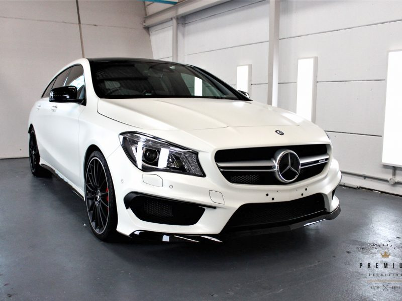 gyeon protection SPD Paint Protection Packages CLA45 Shooting Brake Wagon XPEL STEALTH 800x600