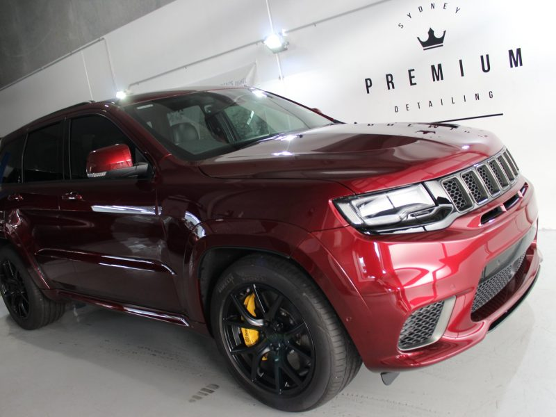 xpel ultimate paint protection film XPEL ULTIMATE Paint Protection Film Jeep Trackhawk XPEL 800x600
