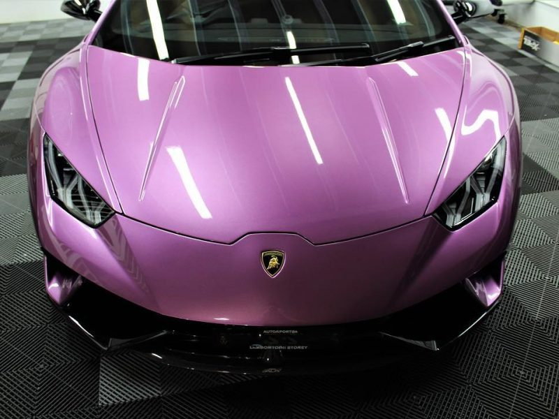xpel ultimate paint protection film XPEL ULTIMATE Paint Protection Film Lamborghini Huracan Performance XPEL PPF Clear Bra 3 800x600