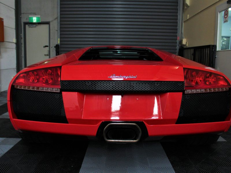 xpel ultimate paint protection film XPEL ULTIMATE Paint Protection Film Lamborghini Murcielago Rear XPEL 800x600