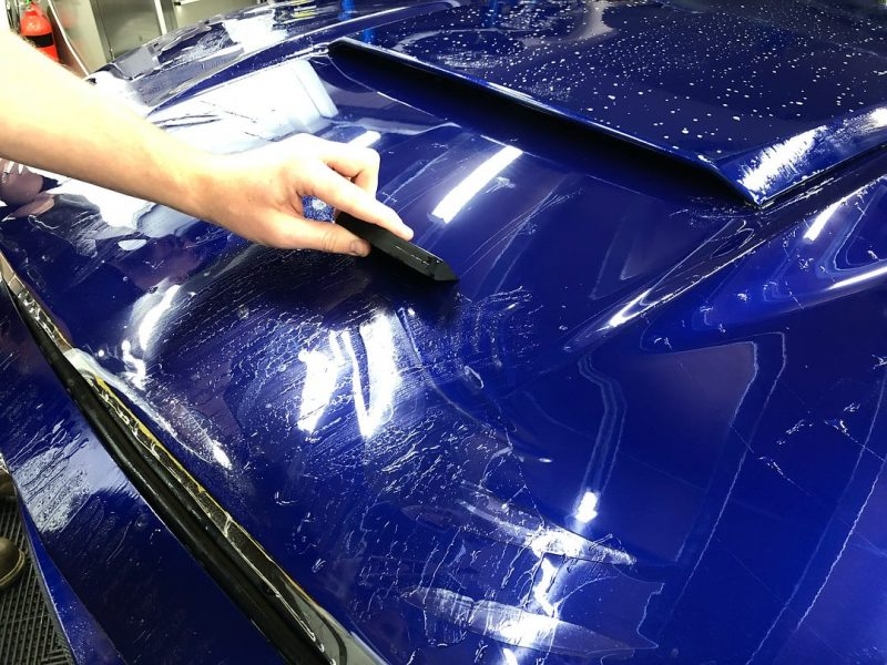 xpel ultimate paint protection film XPEL ULTIMATE Paint Protection Film Mustang 1 800x600