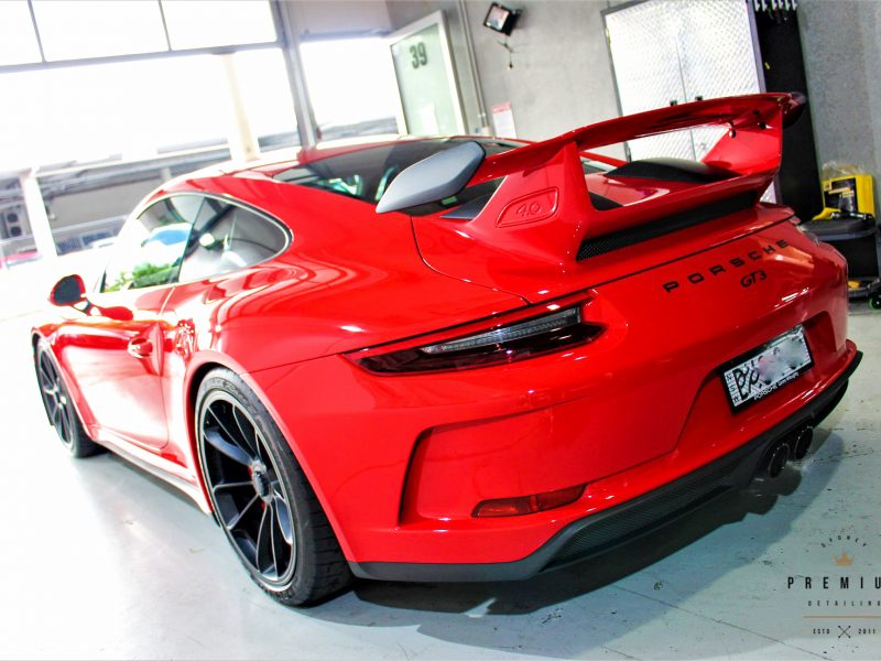 gyeon protection SPD Paint Protection Packages Porsche 991 gt3 red spd gyeon 800x600