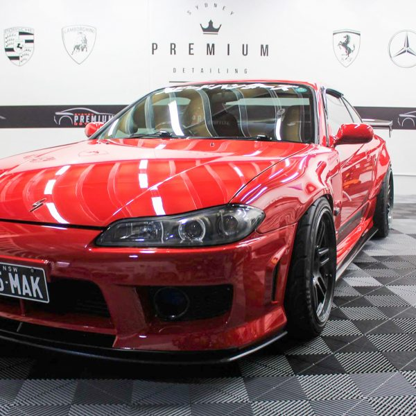 [object object] Sydney Premium Detailing Protection Portfolio S15 Red GYeon SPD 600x600