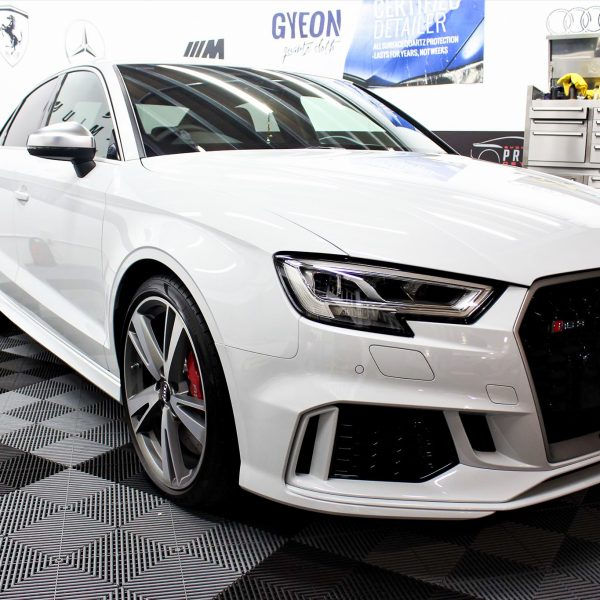 [object object] Sydney Premium Detailing Protection Portfolio White RS3 600x600
