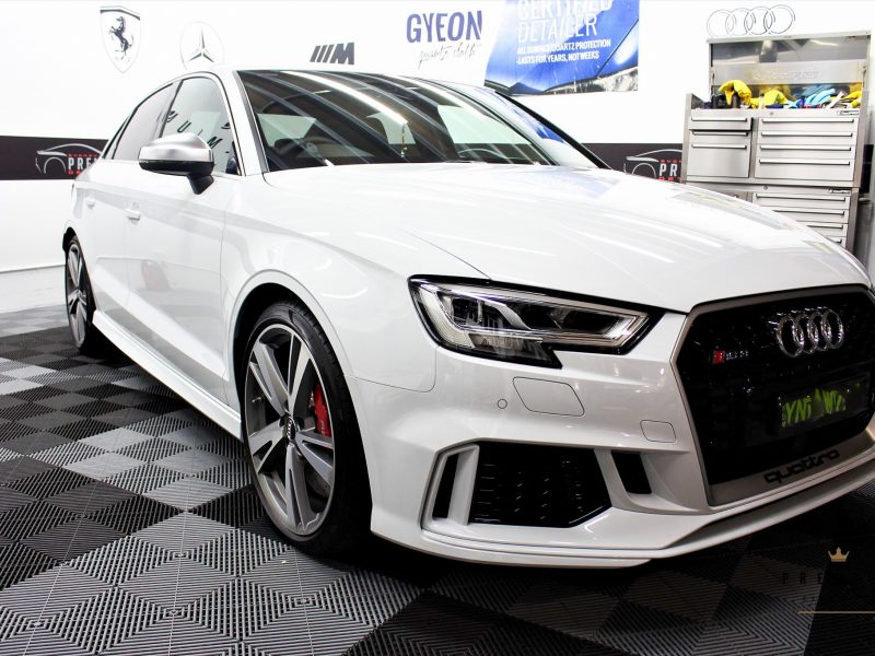 gyeon protection SPD Paint Protection Packages White RS3 800x600