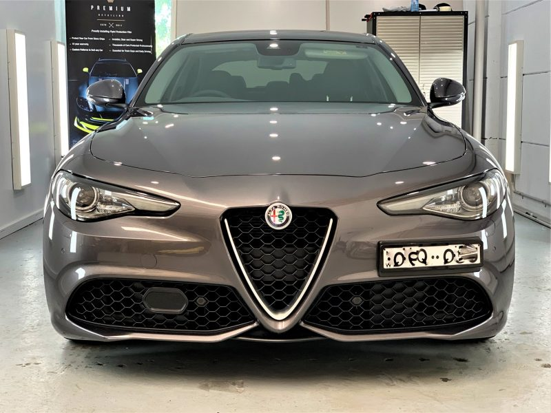 [object object] Sydney Premium Detailing Protection Portfolio alfa giulia veloce xpel 5 800x600