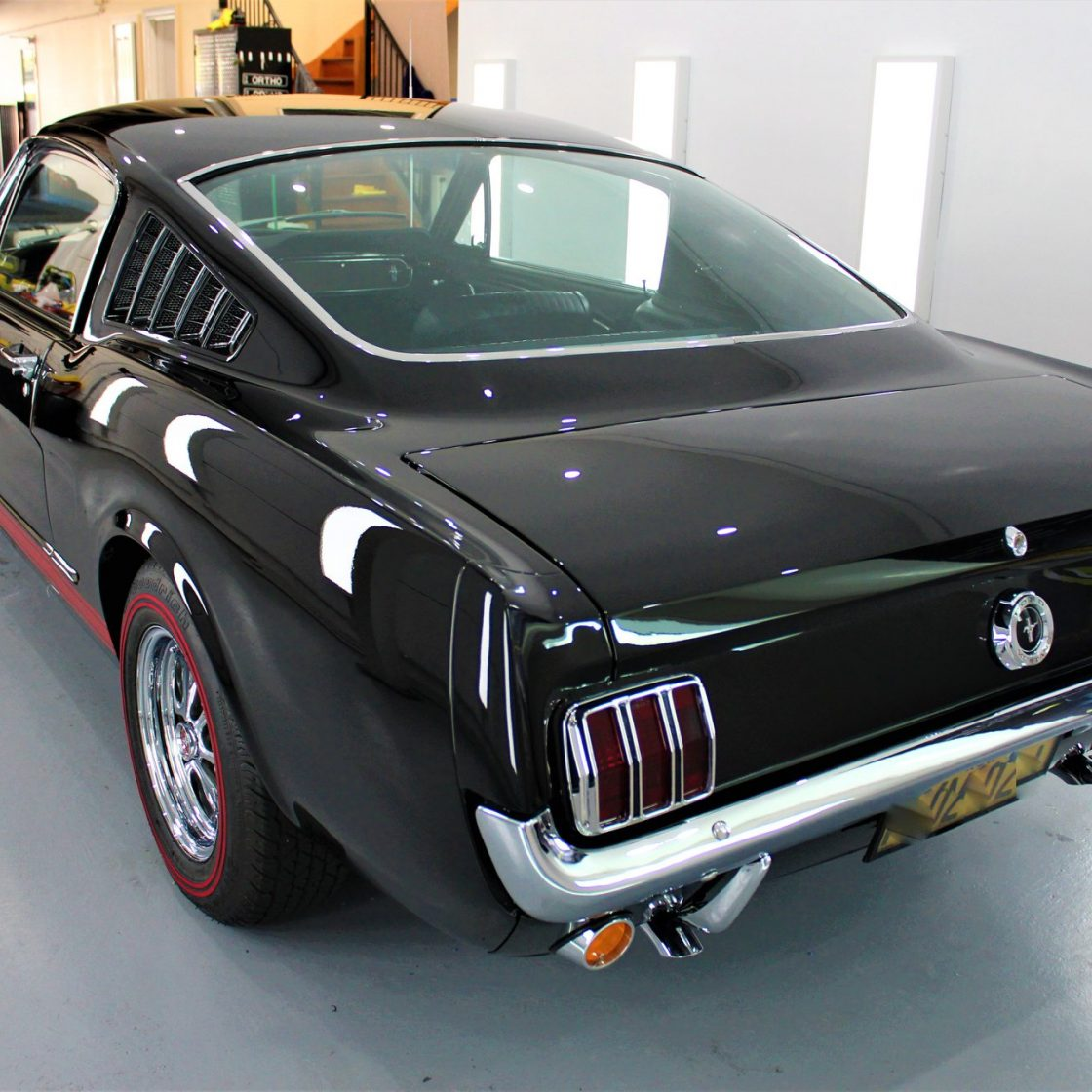 what is detailing? What is Detailing? 1965 Ford Mustang Fastback Paint Correction GYEON quartz Protection 03 1120x1120