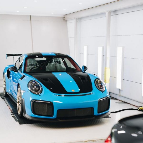 porsche 911 gt2rs - xpel ultimate plus & gyeon quartz full protection Porsche Paint Protective Solutions Showcase Porsche GT2RS GYEON XPEL 1 600x600
