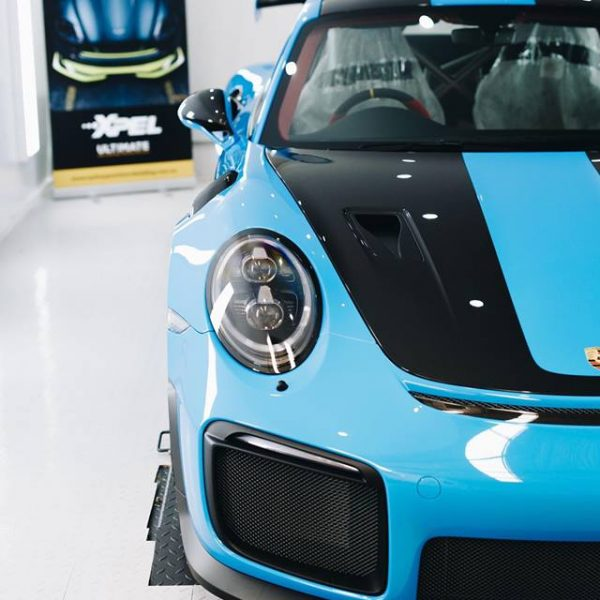 porsche 911 gt2rs - xpel ultimate plus & gyeon quartz full protection Porsche Paint Protective Solutions Showcase Porsche GT2RS GYEON XPEL 3 600x600