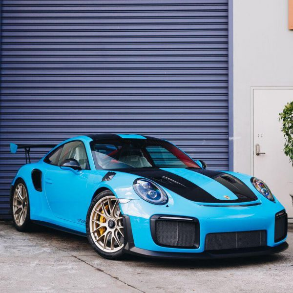porsche 911 gt2rs - xpel ultimate plus & gyeon quartz full protection Porsche Paint Protective Solutions Showcase Porsche GT2RS GYEON XPEL 8 600x600