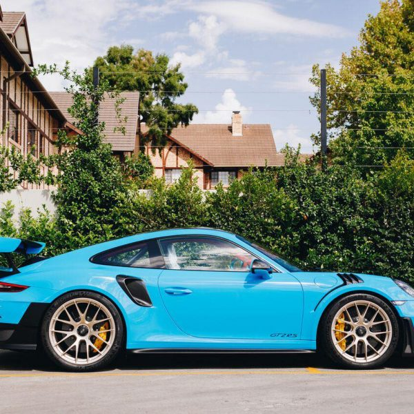 porsche 911 gt2rs - xpel ultimate plus & gyeon quartz full protection Porsche Paint Protective Solutions Showcase Porsche GT2RS GYEON XPEL side 600x600