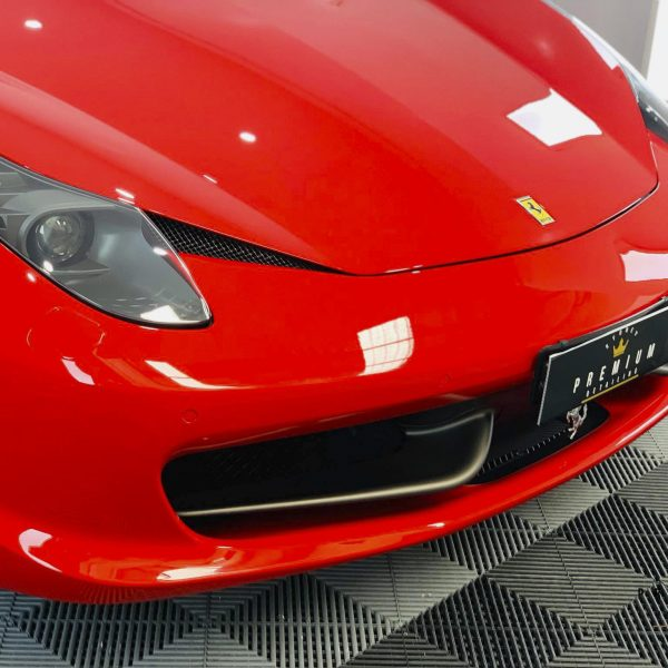 ferrari paint protection Ferrari Paint Protective Solutions – Sydney Premium Detailing Ferrari 458 GYEON quartz Ceramic Paint Protection Coating 03 600x600