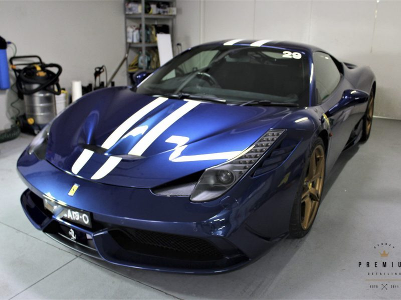 [object object] GYEON quartz Paint Protection Ferrari 458 Speciale GYEON XPEL Duraflex 02 800x600