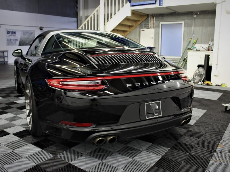 [object object] GYEON quartz Paint Protection Porsche 911 Targa GYEON MOHS Plus 01 800x600
