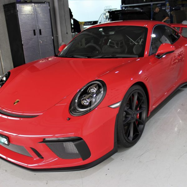 porsche 911 gt2rs - xpel ultimate plus & gyeon quartz full protection Porsche Paint Protective Solutions Showcase Porsche 991 GT3 XPEL Coverage 07 600x600