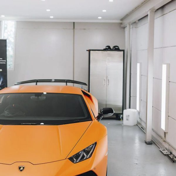 lamborghini detailer Lamborghini – XPEL Paint Protection Film & GYEON quartz Ceramic Protection lamborghini huracan matte orange paint xpel stealth 06 600x600