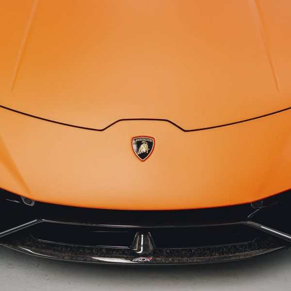 lamborghini detailer Lamborghini – XPEL Paint Protection Film & GYEON quartz Ceramic Protection lamborghini huracan matte orange paint xpel stealth 07 600x600