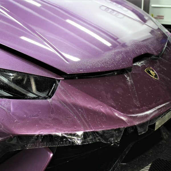 lamborghini detailer Lamborghini Aventador SVJ – XPEL STEALTH Matte Paint Protection Film – No More Stone-Chips lamborghini huracan performante purple xpel paint protection film ppf sydney 03 600x600