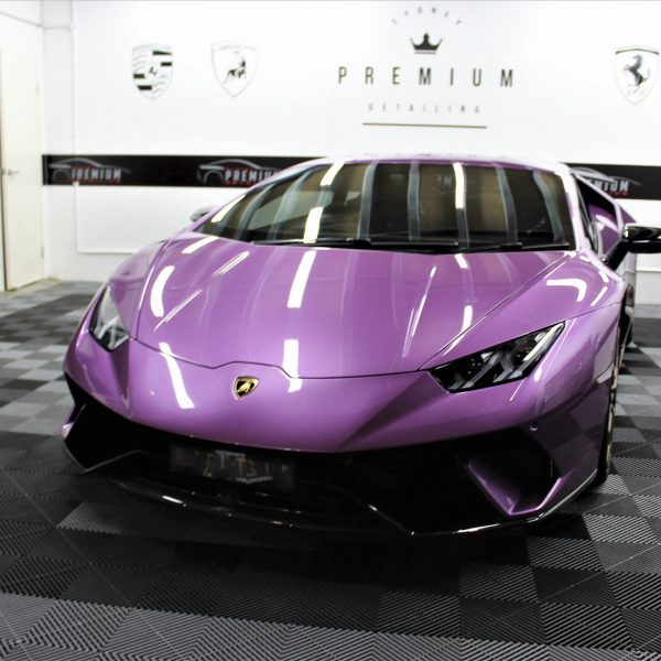 lamborghini detailer Lamborghini Aventador SVJ – XPEL STEALTH Matte Paint Protection Film – No More Stone-Chips lamborghini huracan performante purple xpel paint protection film ppf sydney 06 600x600