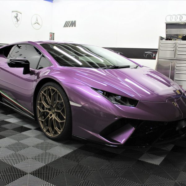 lamborghini detailer Lamborghini Aventador SVJ – XPEL STEALTH Matte Paint Protection Film – No More Stone-Chips lamborghini huracan performante purple xpel paint protection film ppf sydney 08 600x600