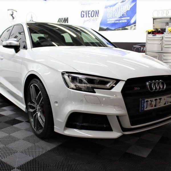 [object object] Audi Paint Protective Solutions Showcase AUdi S3 paint protection spd 02 600x600