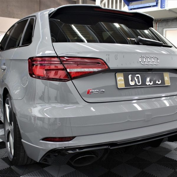 [object object] Audi Paint Protective Solutions Showcase Audi RS3 Nardo Grey Ceramic PPF SPD 01 600x600