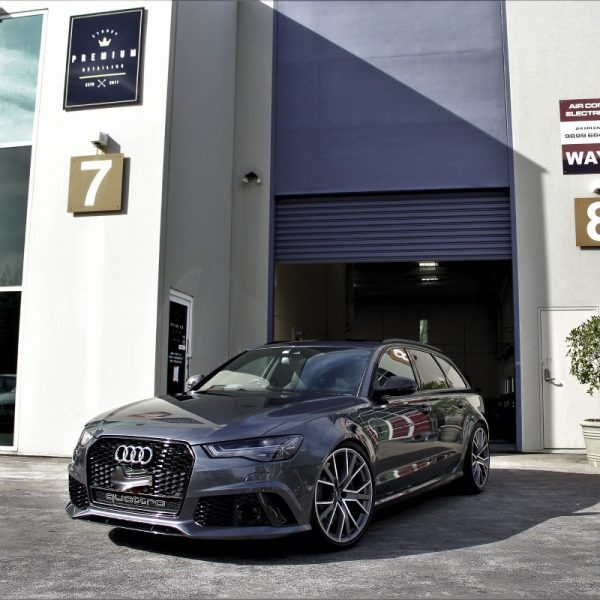 [object object] Audi Paint Protective Solutions Showcase Audi RS6 SPD Paint Protection Coating Grey 08 600x600