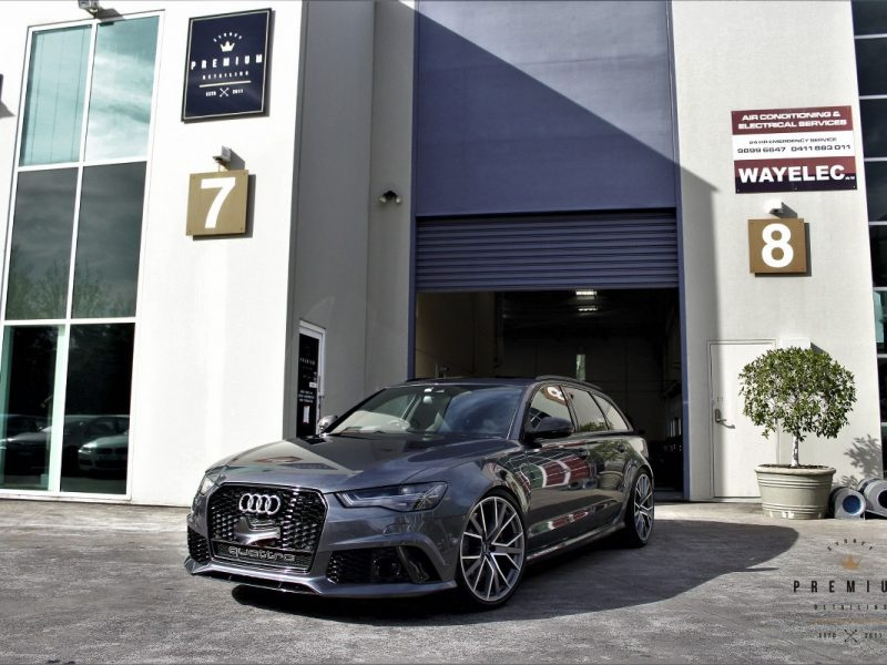 [object object] GYEON quartz Paint Protection Audi RS6 SPD Paint Protection Coating Grey 08 800x600