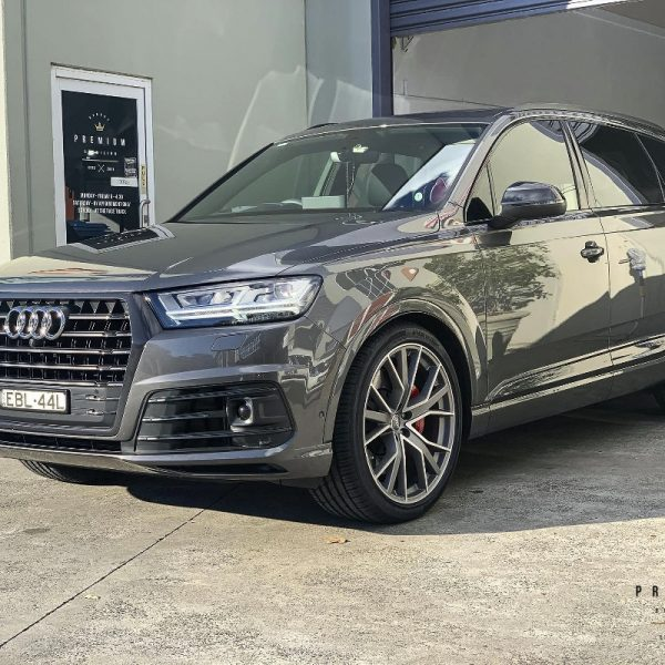 [object object] Audi Paint Protective Solutions Showcase Audi SQ7 GYEON XPEL Sydney Premium Detailing Paint Protection PPF Clear Bra 08 600x600