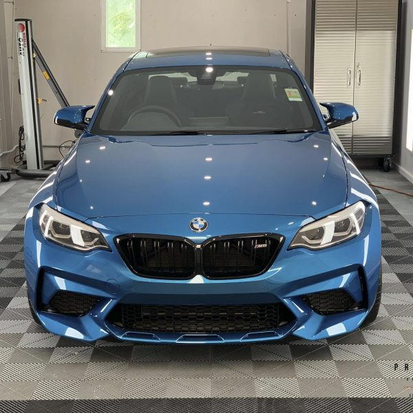 sydney lamborghini detailer BMW Paint Protective Solutions Showcase BMW M2 Blue XPEL GYEON quartz 03 600x600