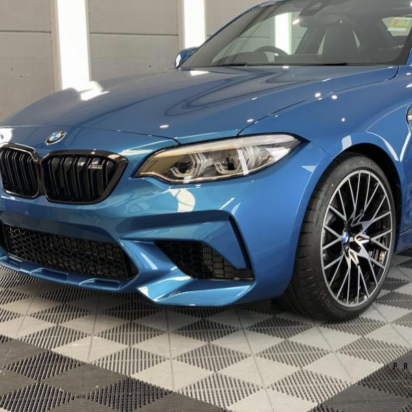 sydney lamborghini detailer BMW Paint Protective Solutions Showcase BMW M2 Blue XPEL GYEON quartz 05 600x600