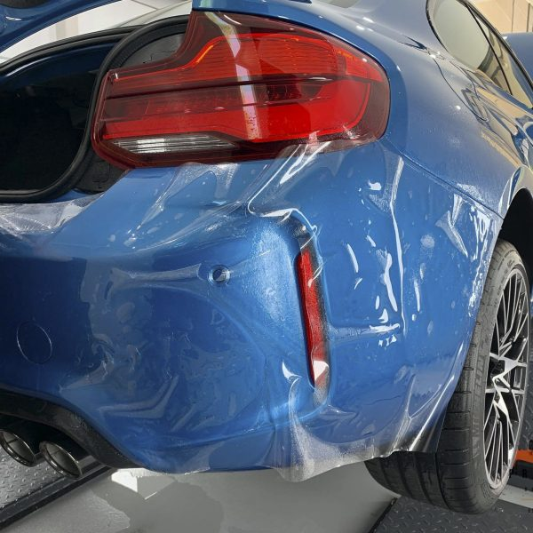 sydney lamborghini detailer BMW Paint Protective Solutions Showcase BMW M2 Blue XPEL GYEON quartz 09 600x600