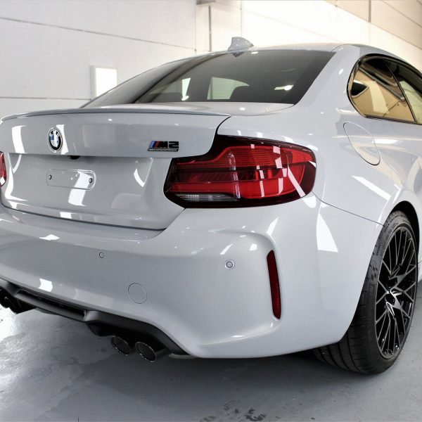 sydney lamborghini detailer BMW Paint Protective Solutions Showcase BMW M2 Competition White 01 600x600