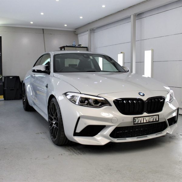 sydney lamborghini detailer BMW Paint Protective Solutions Showcase BMW M2 Competition White 02 600x600