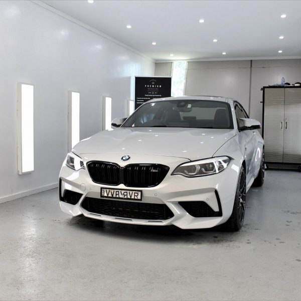 sydney lamborghini detailer BMW Paint Protective Solutions Showcase BMW M2 Competition White 05 600x600