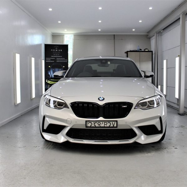 sydney lamborghini detailer BMW Paint Protective Solutions Showcase BMW M2 Competition White 06 600x600