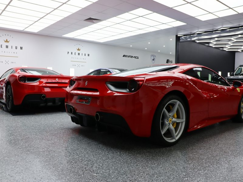 xpel ultimate paint protection film XPEL ULTIMATE Paint Protection Film Ferrari 488 gtb XPEL STEK Kamikaze Gyeon 1600x1067 800x600